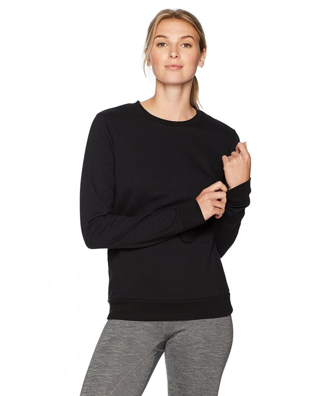 Soffe Womens Fleece Black Large