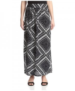 James Erin Womens Printed Skirt