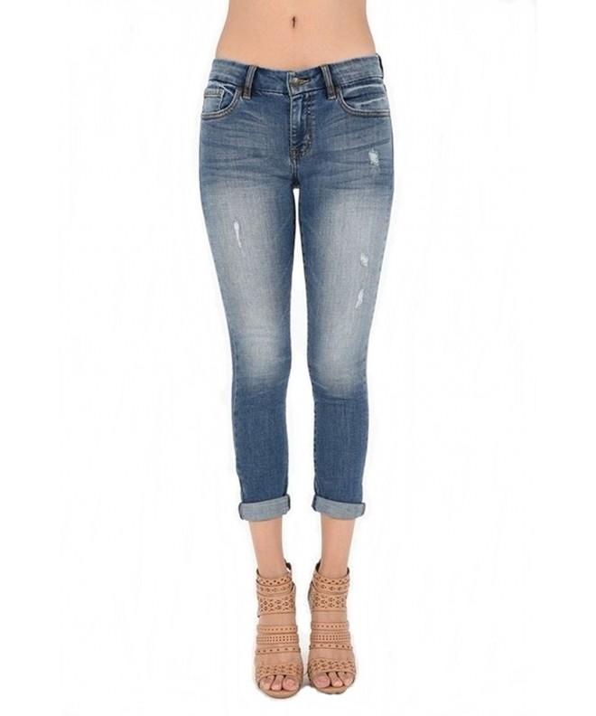 Eunina Womens Skinny Jeans X Large