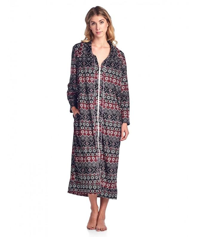 Ashford Brooks Womens Fleece Lounger