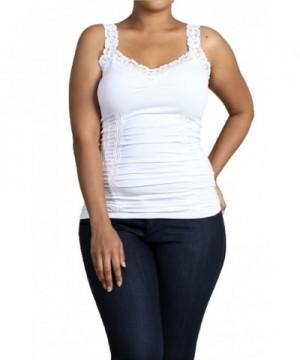 M Rena Womens Camisole One White