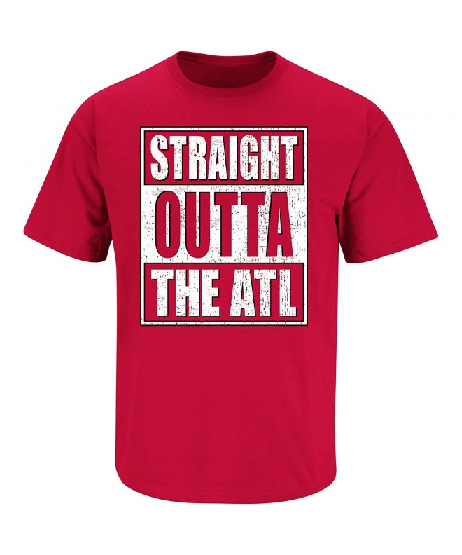 Atlanta Football Fans Straight T Shirt