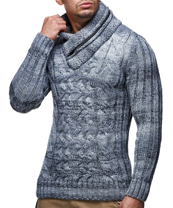 Leif Nelson Knitted Pullover Turtleneck