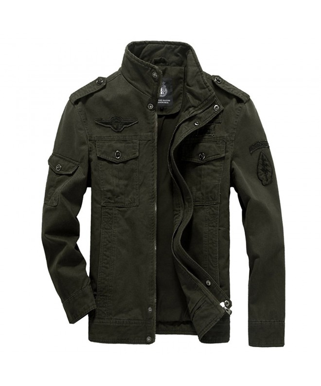 Kolongvangie Cotton Military Windbreaker Outdoor