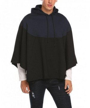 HOTOUCH Black Hooded Pullover Relaxed