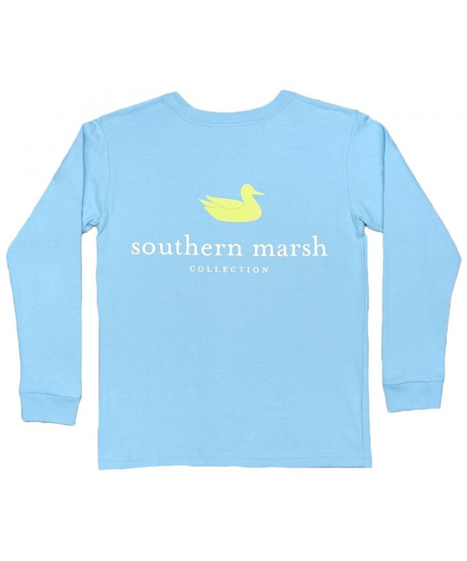 Southern Marsh Authentic Tee Breaker Blue small