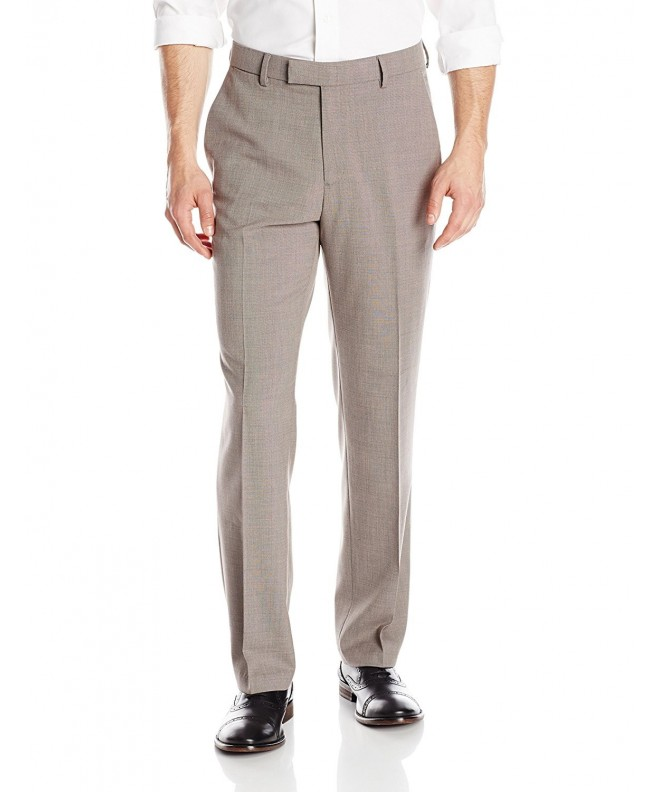 Haggar Stretch Stria Straight Plain