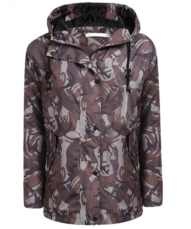 Beyove Lightweigt Waterproof Rainwear Camouflage