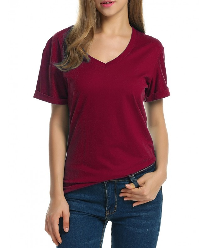 Beyove Women Solid Sleeve Lightweight