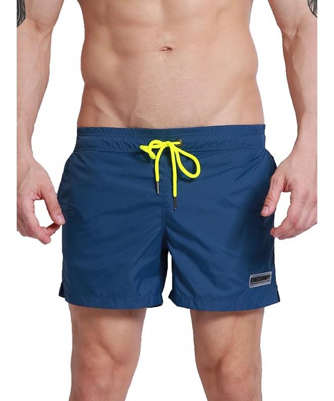 Neleus Beach Shorts Swimming Pockets