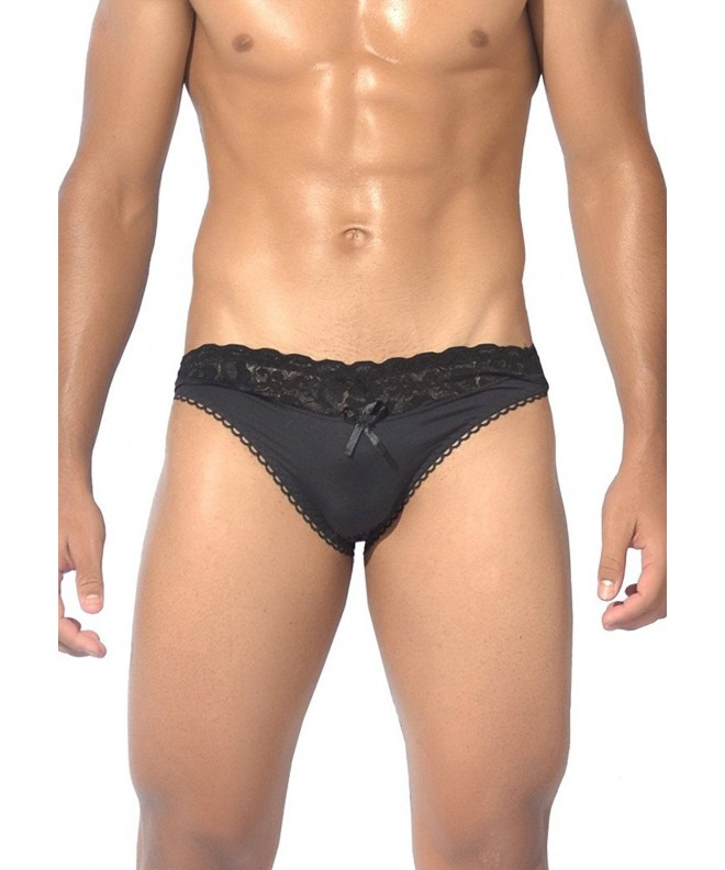 Habitus Lingerie Black Waist Brief