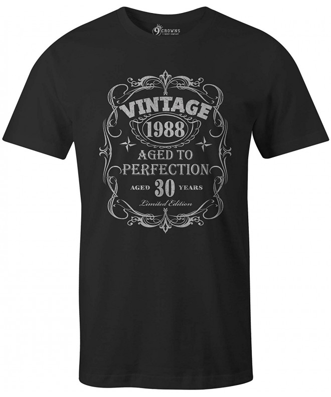 Crowns Vintage Perfection Birthday T Shirt