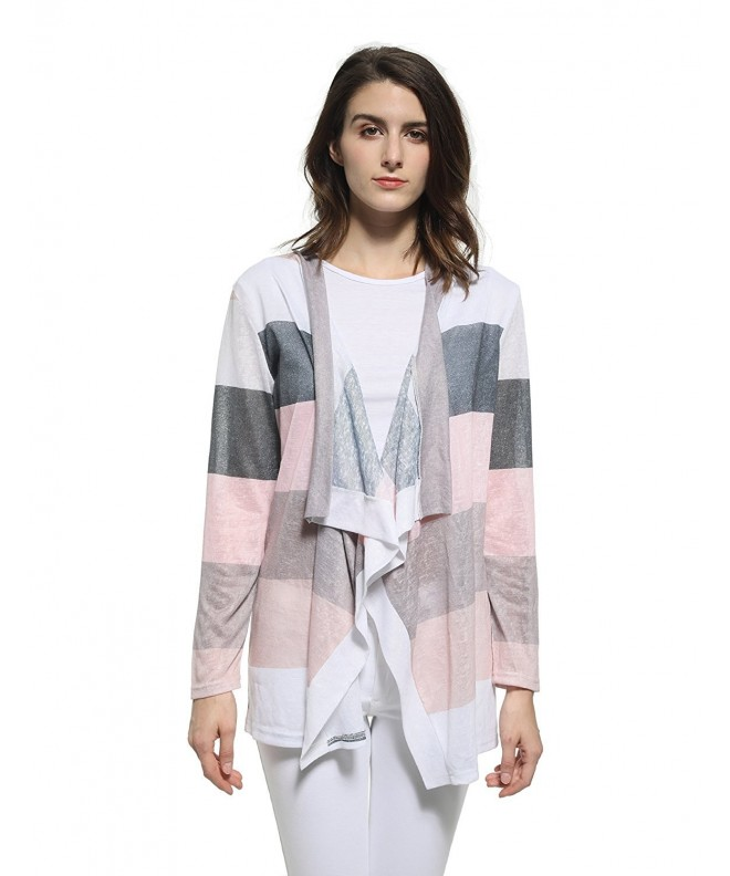 Blooming Jelly Colorblock Cardigan Sweater