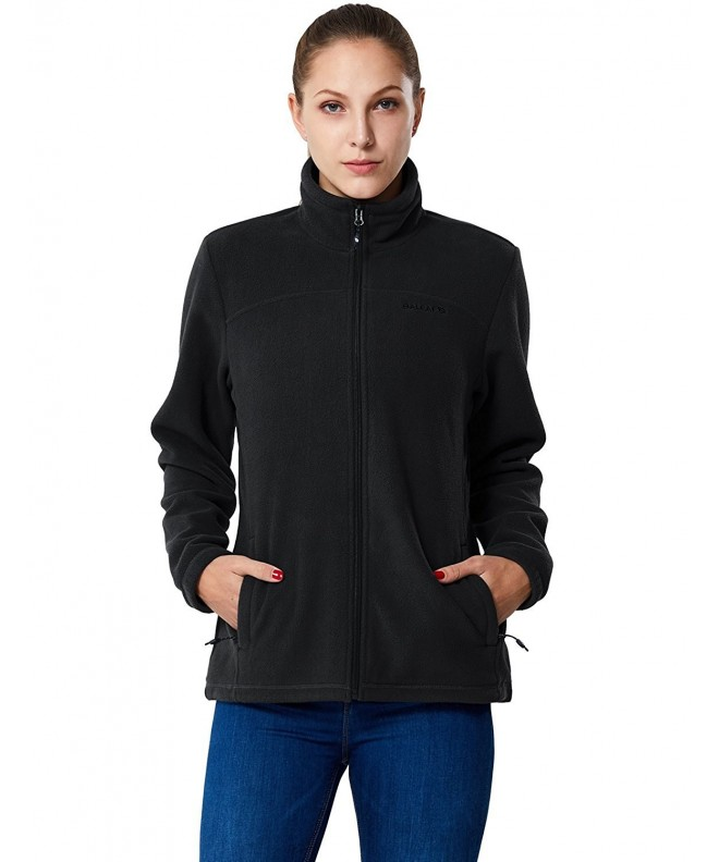 Baleaf Womens Full Zip Thermal Fleece