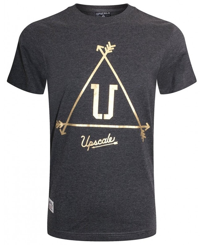 UPSCALE Mens Graphic Print CHARCOAL