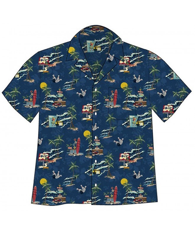 David Carey Tropical Bowling Shirt
