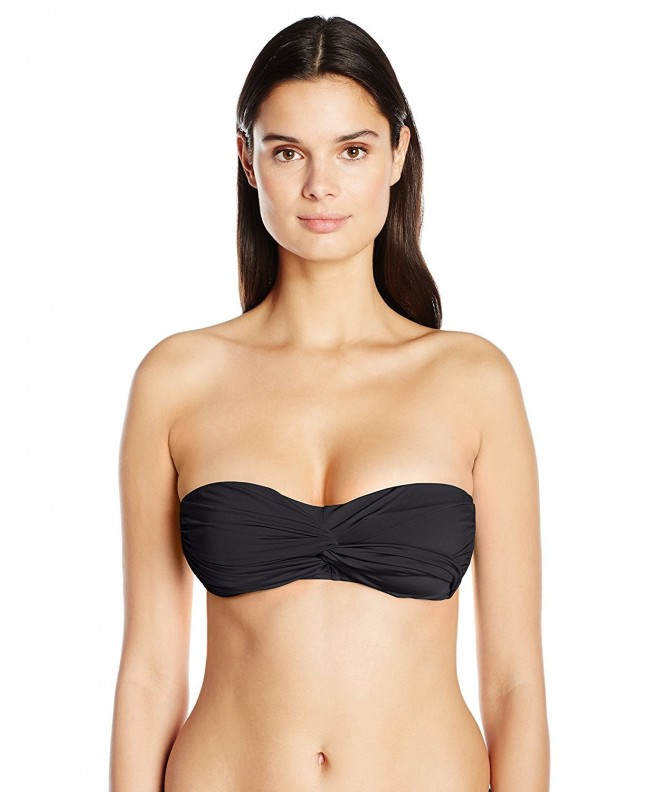 Cole California Womens Solids Bandeau