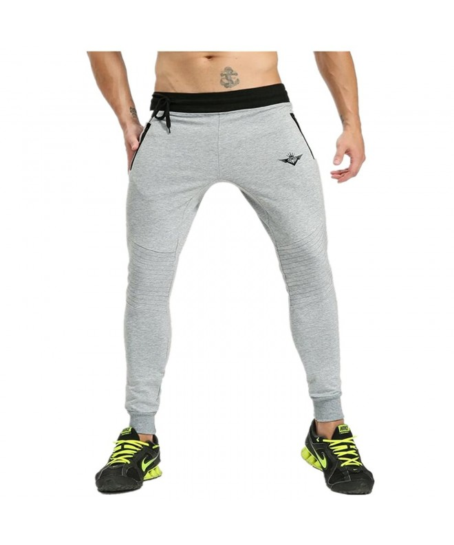 KORKSLORES Joggers Pants Fitness Trousers
