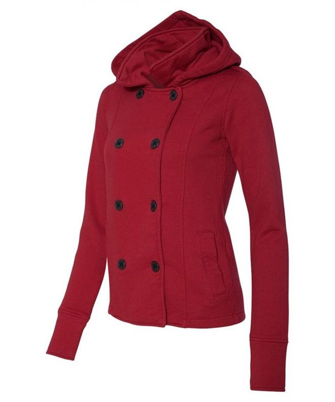 Juniors Textured Fleece Coat PRM350PC