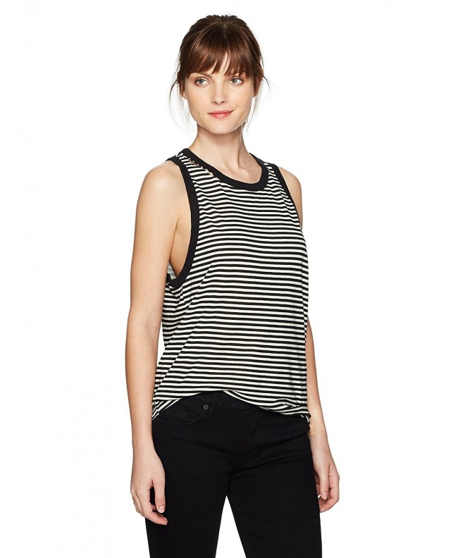 PHILANTHROPY Womens Stripe Crystal Armhole