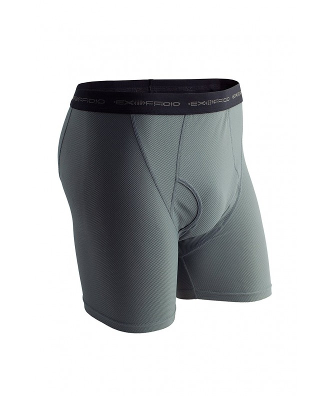 ExOfficio Give N Go Boxer Charcoal Medium