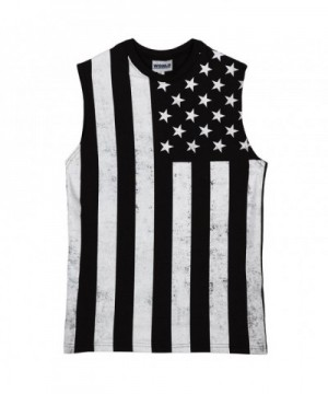 Calhoun Sportswear Distressed Black Muscle