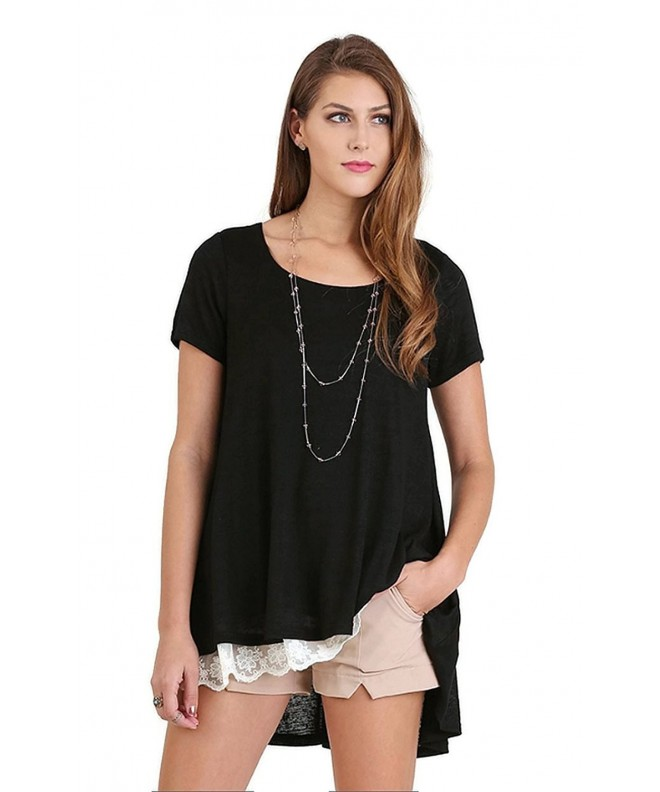 Umgee Boho Chic Tunic Black