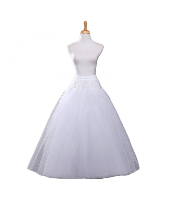 Aprildress Hoopless Petticoat Crinoline Underskirt