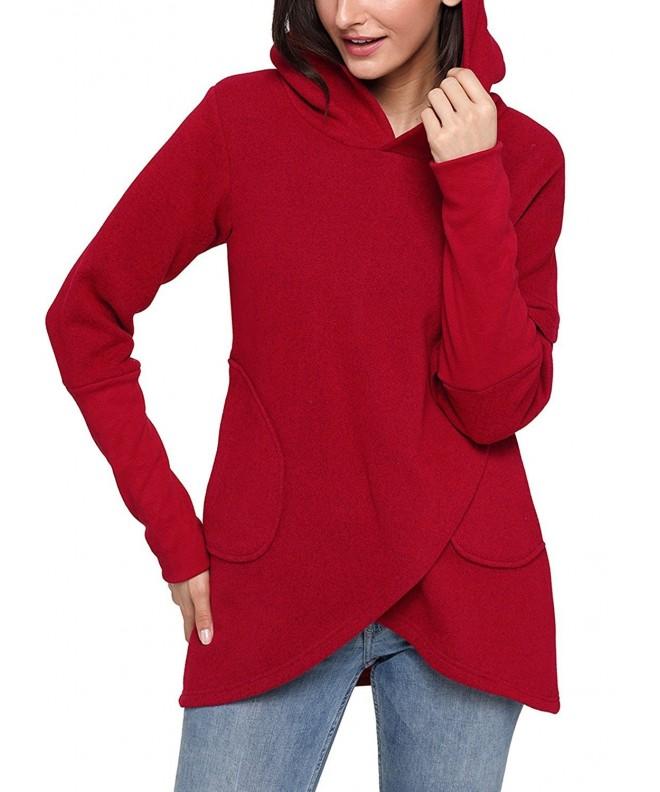 ZKESS Asymmetric Sweatshirt Outwear Pullover