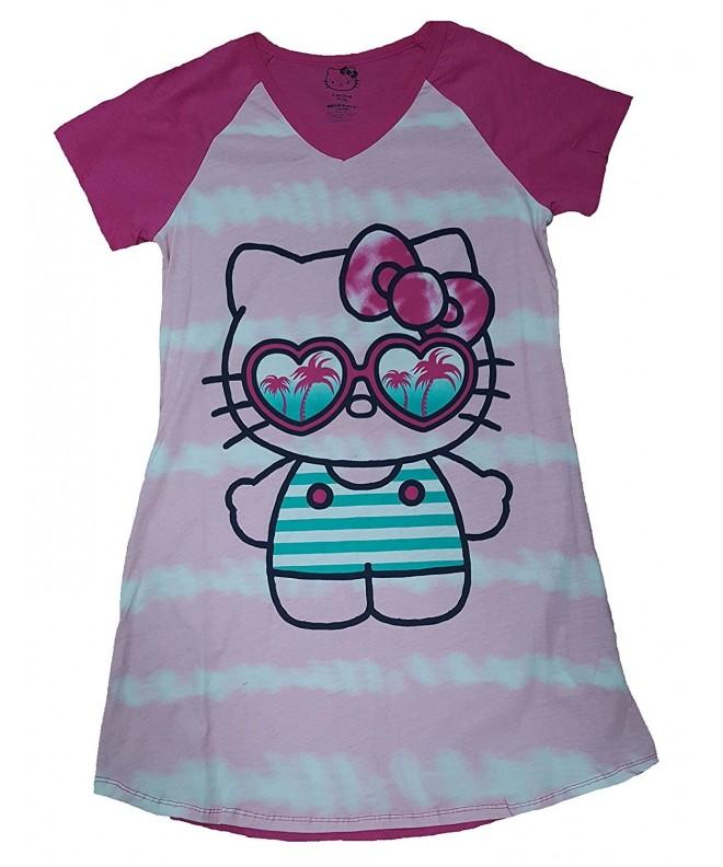 Hello Kitty Nightgown Sleep Shirt