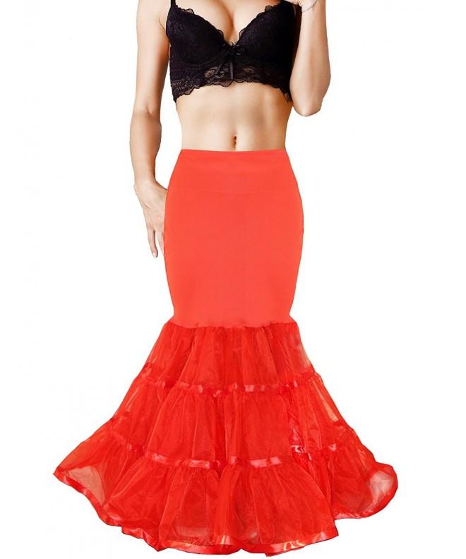 Shimaly Mermaid Petticoat Trumpet Underskirt