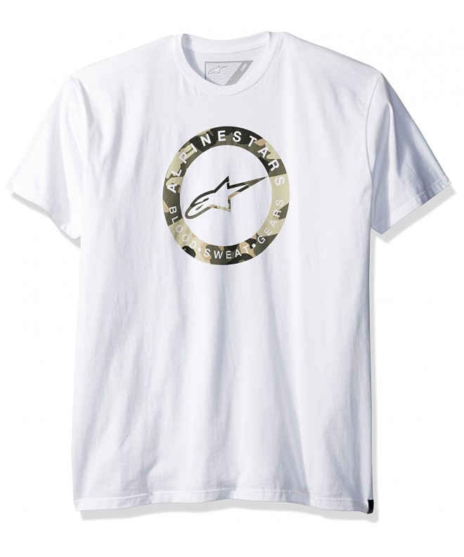 Alpinestars Mens Ring Tee White