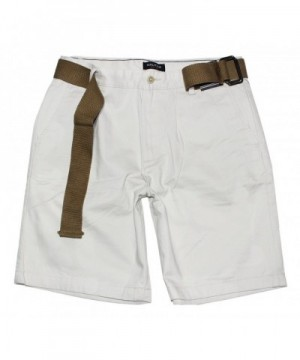 Nautica Belted Front Chino Short