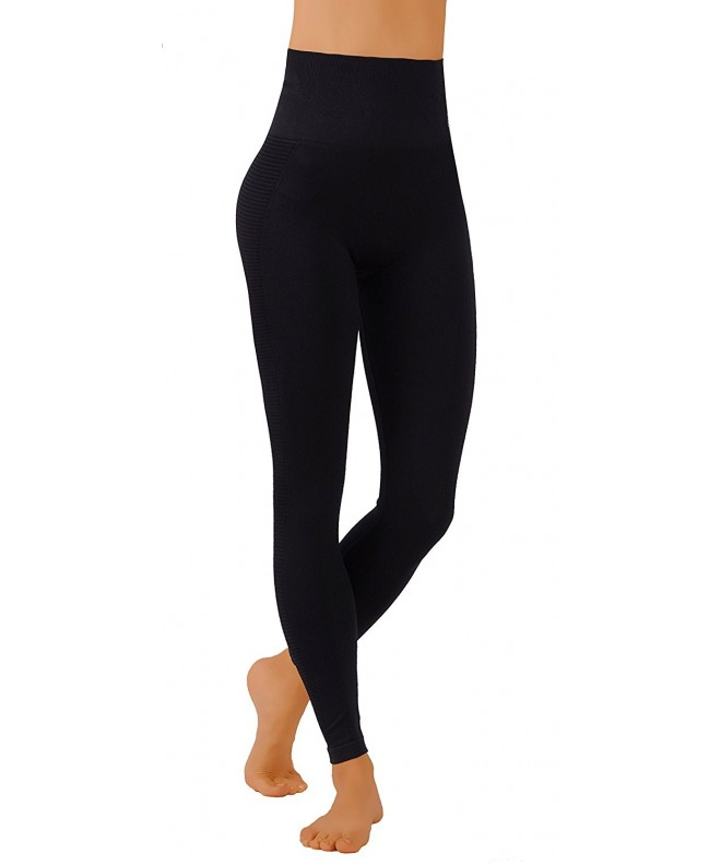 Pro Fit Compression Leggings PF607 Black
