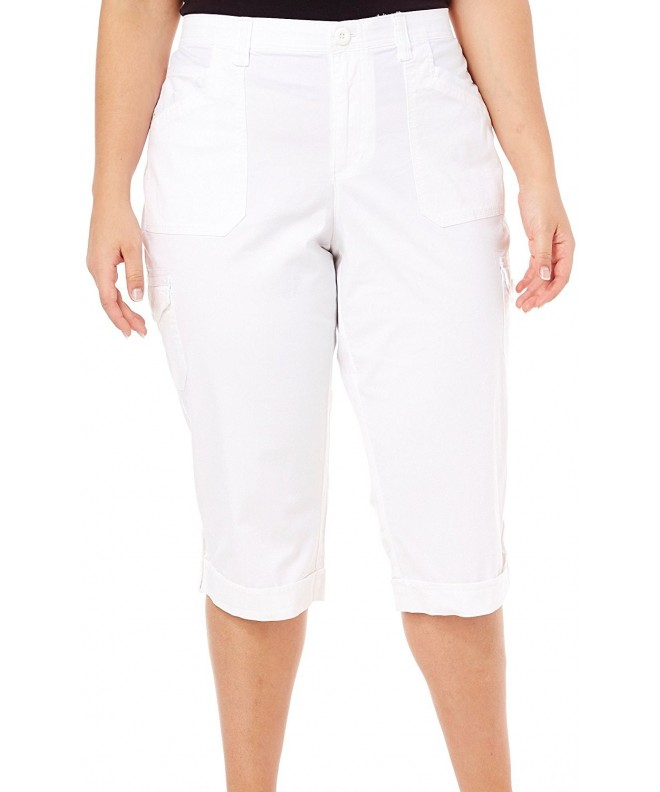 Gloria Vanderbilt Cargo Capri Pants