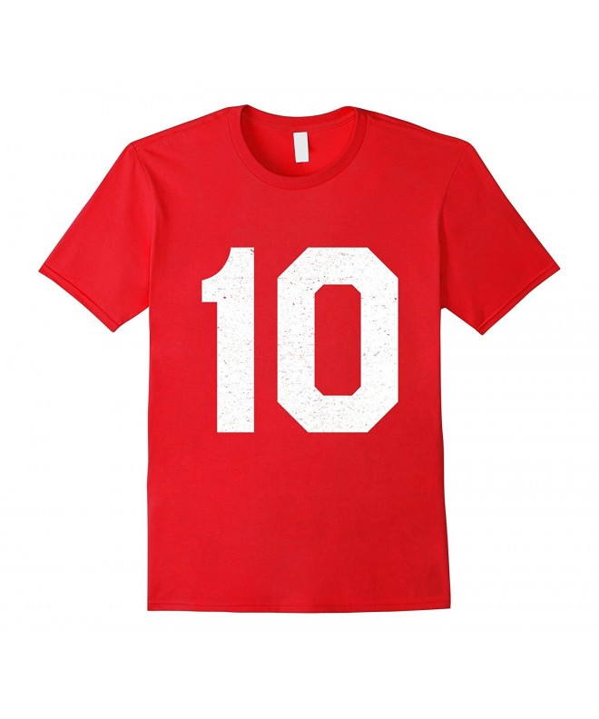 Jersey Number Athletic Sports T Shirt