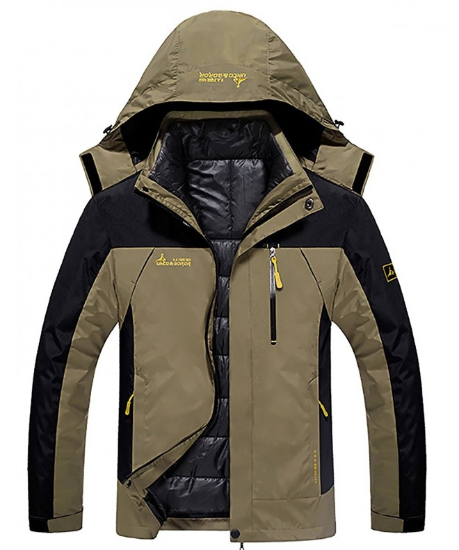 HENGJIA Outdoor Waterproof Hooded Detachable