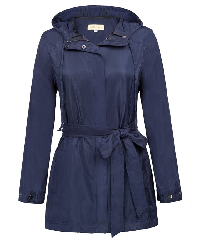 Kate Kasin Versatile Windbreaker Rain Coat