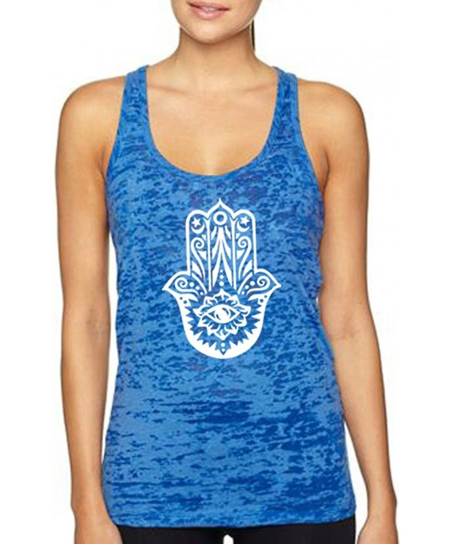 Yoga Tank Top Burnout Racerback