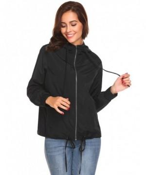 Waterproof Lightweight Breathable Raincoat Hooded