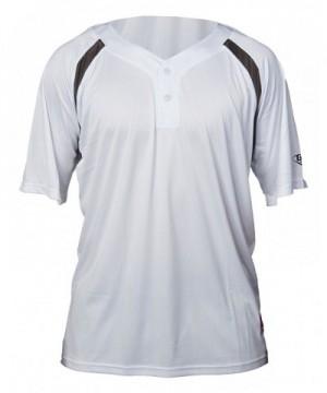 Louisville Slugger 2 Button Henley Sleeve