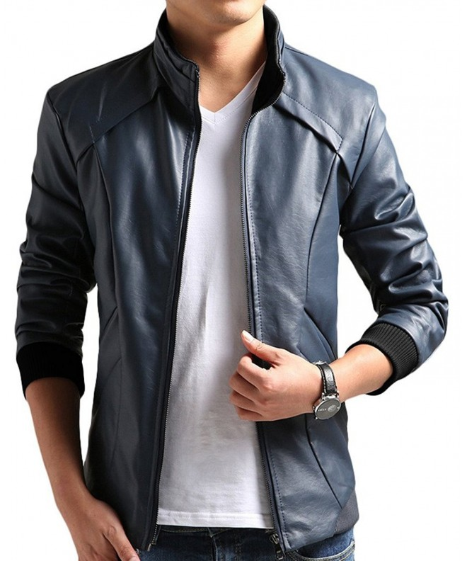 Cheering Leather Jacket Casual Large