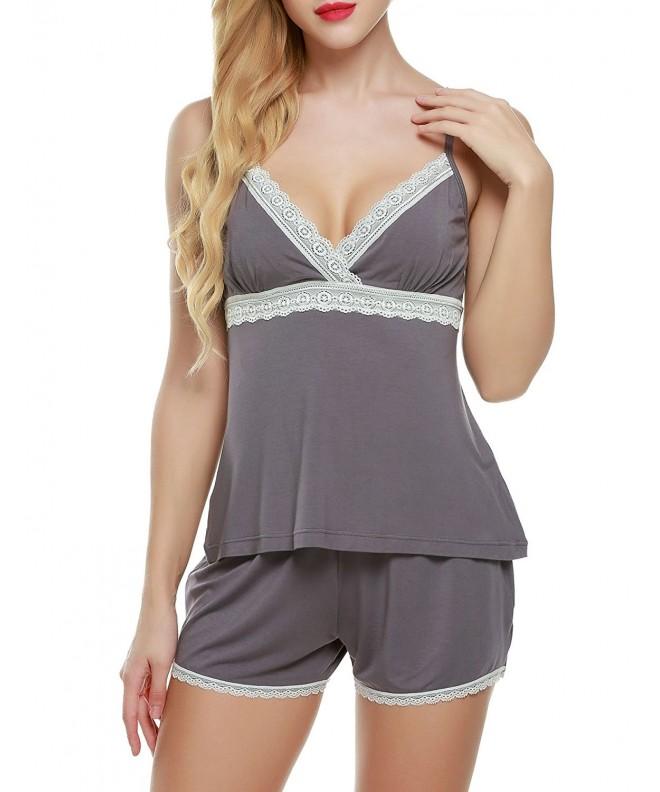 Ekouaer Ladies Viscose Sleepwear Lounging