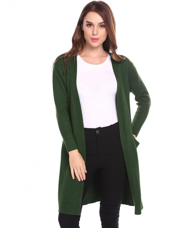 sholdnut Womens Sleeve Cardigan Pocket