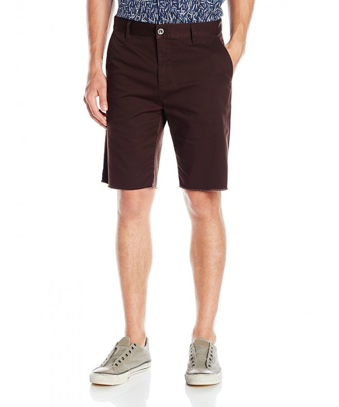 RVCA Mens Dayshift Short Chocolate