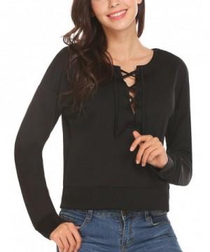 Miageek Womens Sleeve Pullover T Shirt