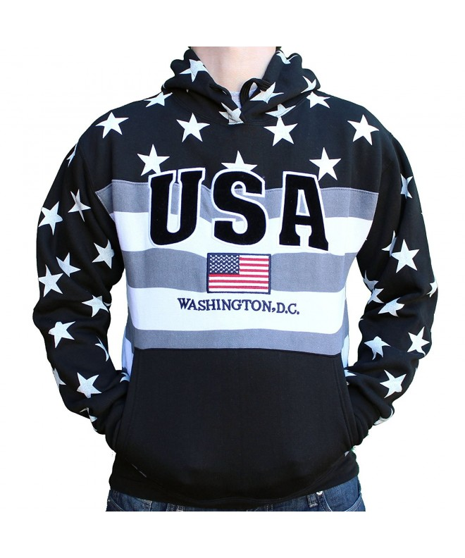Washington DC Monochrome American Sweatshirt