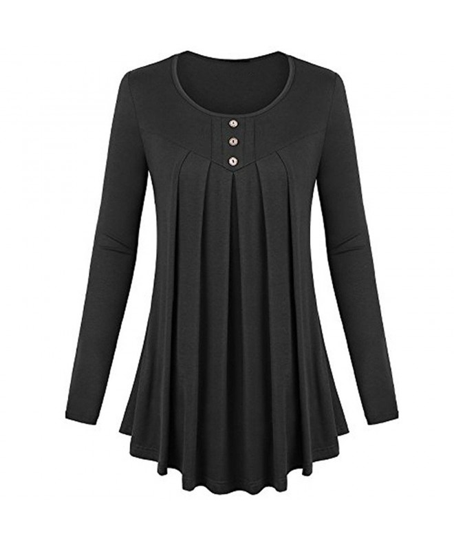 Womens Sleeve Flared Casual Blouse