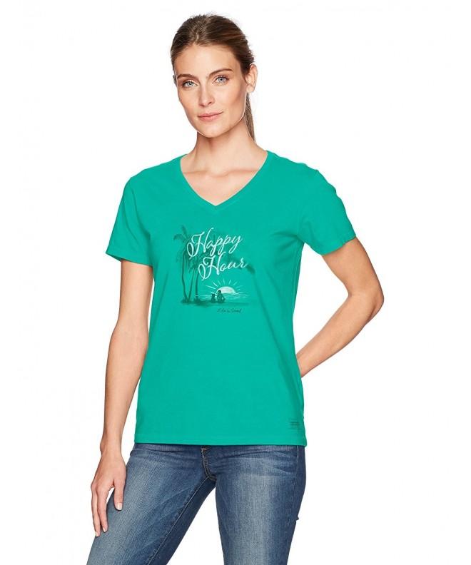 Life Good Womens Crusher T Shirt