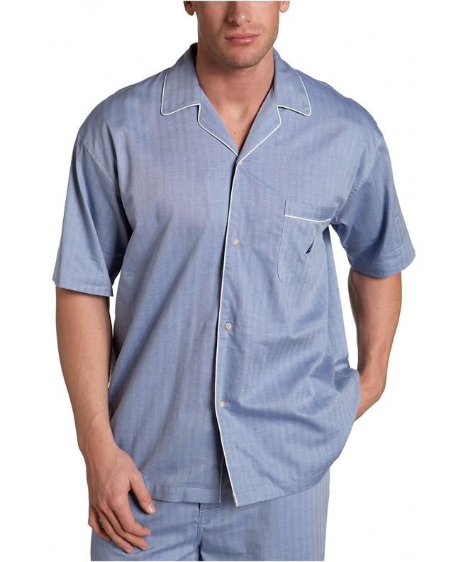 Nautica Captains Herringbone Sleeve Pajama
